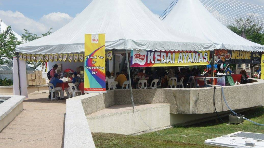 Kedai Ayamas at Malaysia's largest flower and garden festival